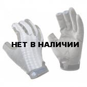 Перчатки рыболовные Buff Pro Series Figting Work Grey Skale L/XL