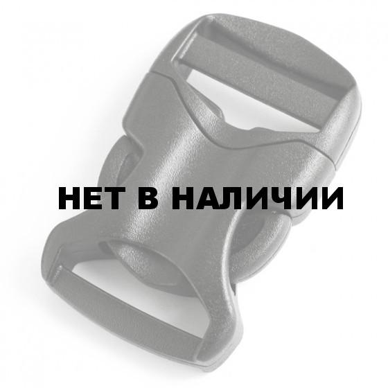 Пряжка фастекс 20 мм 1-30067/1-30136 (2 части) две регулировки черный Duraflex