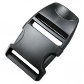 Пряжка фастекс специальная 38мм 1-30059/1-06582 (2 части) одна регулировка черный Duraflex