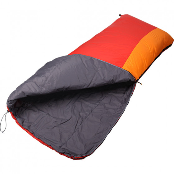 Спальный мешок Veil 120 Primaloft красный/желтый 200x80