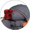 Спальный мешок Fantasy - Si 233 оранж/серый L