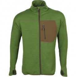 Куртка Techno Polartec Power Stretch св.зеленая