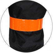 Слэп браслет светоотражающий оранжевый