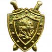 Эмблема наплечная Следственный комитет металл