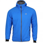 Куртка Alpha Polartec с капюшоном синяя