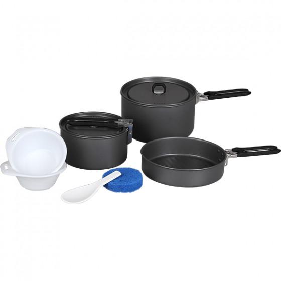 Набор посуды Flex 2 кастрюли, 1 сковородка (2-3 персоны)