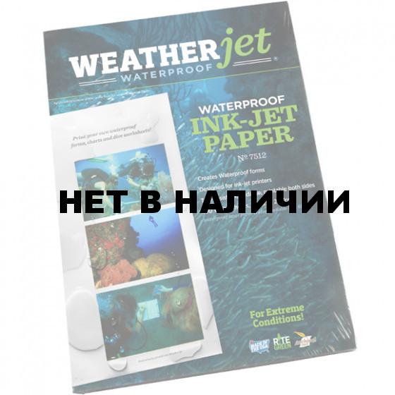 Бумага непромокаемая А4 100 листов 7512 Rite in the Rain