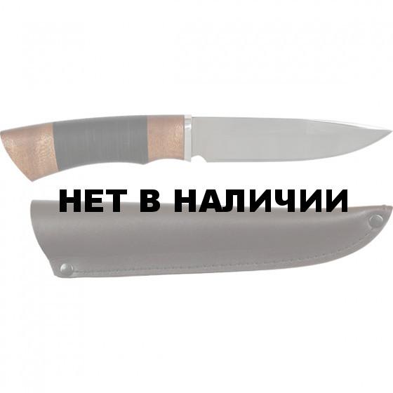 Нож Тайфун кожа (Мастер Гарант)