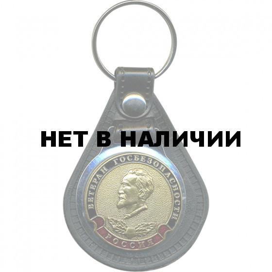 Брелок Россия Ветеран Госбезопасности на подложке