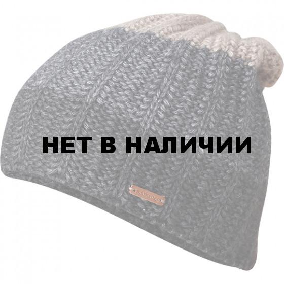 Шапка полушерстяная marhatter MMH 4905/1 антрацит/серый