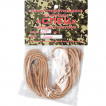 Шнурки (пара) кевлар. плетен. Спец L=180 см оливка