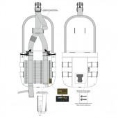 Подсумок для одноквартовой фляги/универсальный multipat (multicam)