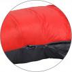 Спальный мешок пуховый Adventure Comfort grey/red 240х90х60