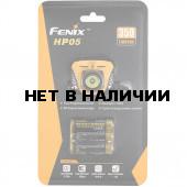 Фонарь налобный Fenix HP05 желтый