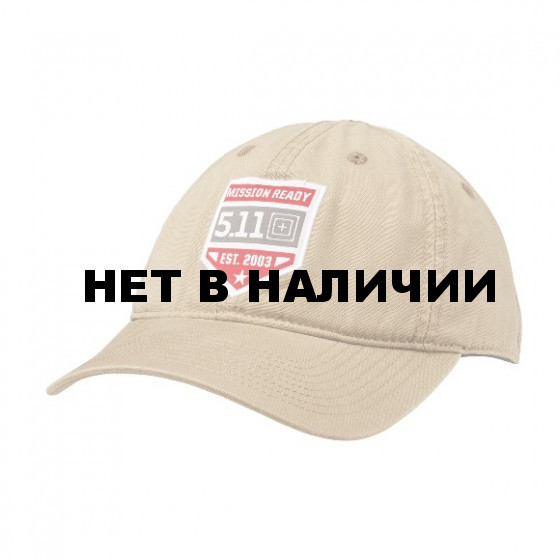 Бейсболка 5.11 Mission Ready Cap coyote