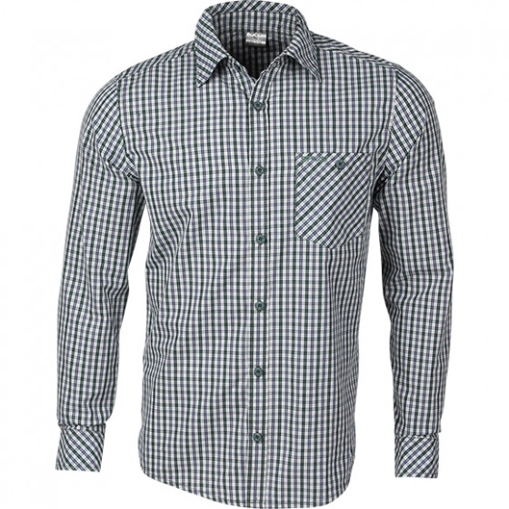Рубашка Everyday, длинный рукав, клетка сине-зеленая 38/170-176