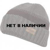 Шапка полушерстянаяmarhatter MMH 6952/2 т. серый / сер. меланж
