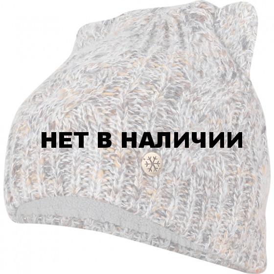 Шапка полушерстянаяmarhatter женская MWH 7128/2 светло-серый