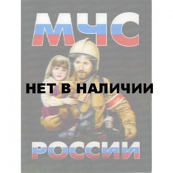 Магнит 3Д 011 МЧС России вертикальный сувенирный