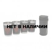 Набор стаканов в чехле FS80-41KN4 (4 шт по 80 мл)