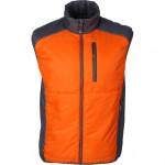 Жилет Ares мод.2 оранжевый/серый Primaloft