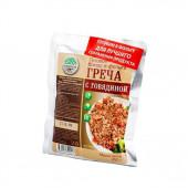 Готовое блюдо Каша гречневая с говядиной (Кронидов)