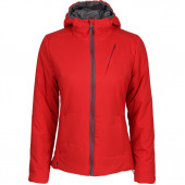 Куртка женская Barrier Primaloft красная