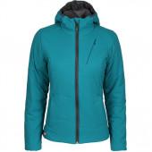 Куртка женская Barrier Primaloft бирюзовая