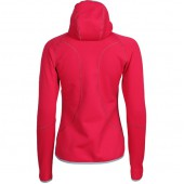 Куртка женская Function с капюшоном брусничный 42/158-164