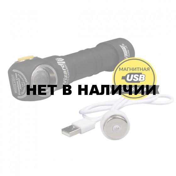 Фонарь Armytek Wizard PRO XHP50 v3 USB Теплый(Серебро)