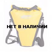 Гермосумка под фото с вклад. ПВХ литой 15л желтый/черный