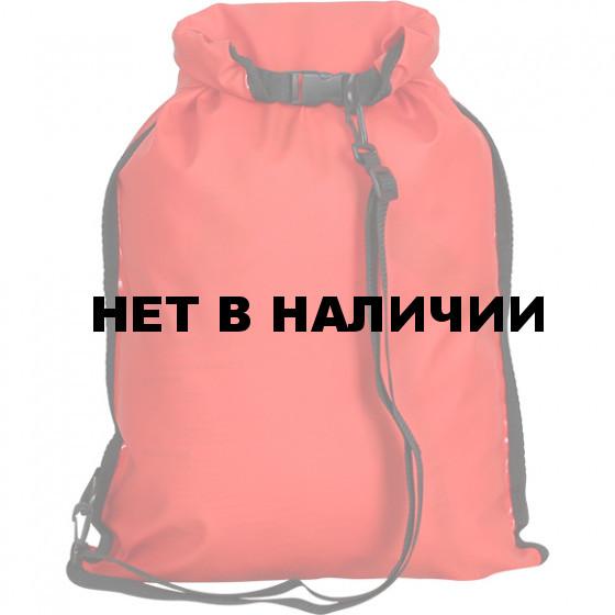 Гермомешок Компакт ПВХ трикотаж, 15л, красный