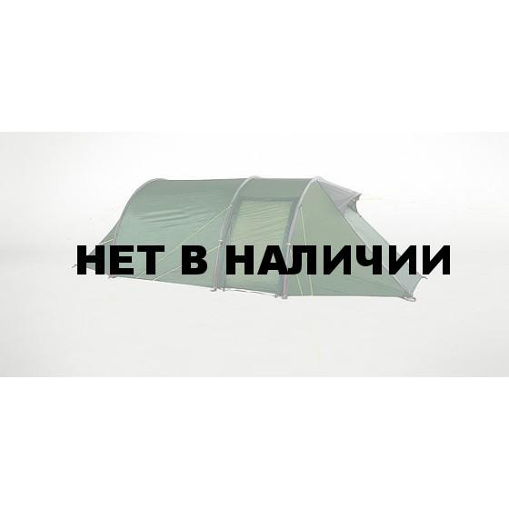 Вместительная классическая палатка туннельного типа в легком исполнении Polar 3, green, 2599.070