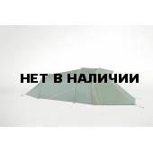 Легкая двухместная палатка с большим тамбуром Abisko, green, 2601.070