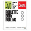 Вертлюги LUCKY JOHN LJ Pro Series ROULETTE BODY ROLLING 002 5 уп. по 7 шт