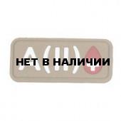 Патч Stich Profi ПВХ Группа крови Цвет: Бежевый, Модель: A II Rh+