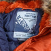 Парка Nord Storm Аляска N3B HUSKY Potters Clay/rep.blue
