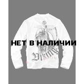 Лонгслив Dobermans Aggressive Viking LS126 белый