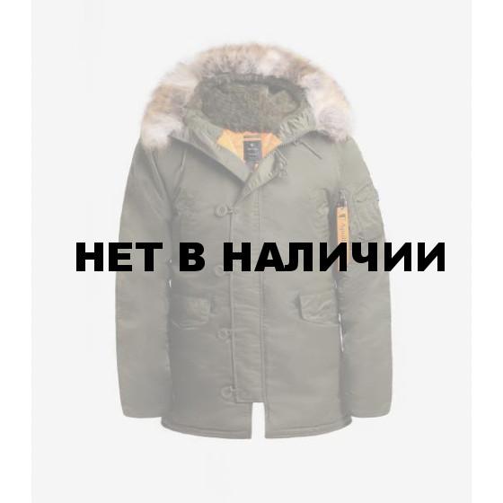 Куртка Apolloget Аляска HUSKY II Capers/Orange