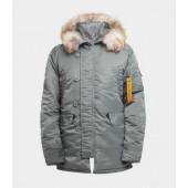 Куртка Apolloget Аляска HUSKY II Olive/Orange