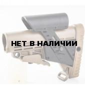 Приклад CAA Tactical CBSCP складной с регулируемой щекой khaki
