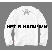 Лонгслив Dobermans Aggressive Shotgun LS55 белый