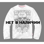 Лонгслив Dobermans Aggressive Viking LS56 белый