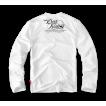 Лонгслив Dobermans Aggressive Death Rider LS57 белый