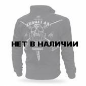 Толстовка Dobermans Aggressive на молнии Combat 44 II BCZ158 черная