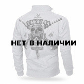 Толстовка Dobermans Aggressive на молнии Combat 44 II BCZ158 серая