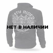 Толстовка Dobermans Aggressive на молнии Death Riders BCZ166 черная