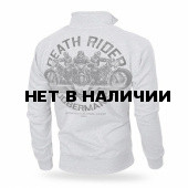 Толстовка Dobermans Aggressive на молнии Death Riders BCZ166 серая