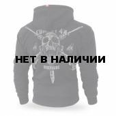 Толстовка Dobermans Aggressive с капюшоном Combat 44 II BZ158 черная