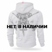 Толстовка Dobermans Aggressive с капюшоном Combat 44 II BZ158 серая
